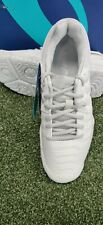 New Women's Asics Gel-Resolution 7 Tennis Shoes White/Silver E751Y-0193 Size 8.5