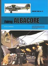Warpaint Book: Fairey Albacore , #52, color sideviews, line drawings, bw photos