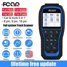 Fcar F506 Pro HD HOBD All System Diesel Truck Heavy Duty Diagnostic Scanner Tool
