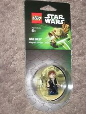 LEGO Star Wars Movie HAN SOLO Minifigure/Figure Magnet ~2013 Sold Out!