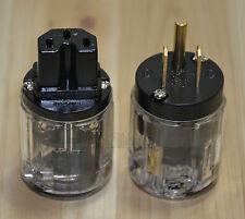 Audio transparent new 10PCS C-029 + 10PCS P-029 IEC power cord of high quality