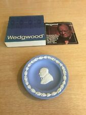 Wedgwood Jasperware Round Sweet Dish  - Boxed - Winston Churchill
