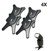 4X Universal Flash Light Hot Shoe Stand Flash Base Holder for Nikon Canon Camera