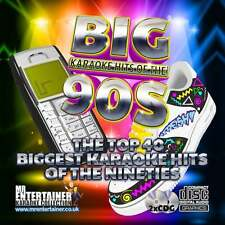 Mr Entertainer Karaoke CDG - The Big 90's Hits - Double Nineties CD+G Discs Pack