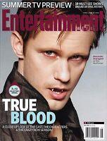 Entertainment Weekly Magazine True Blood Alexander Skarsgard Dallas Summer TV