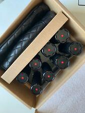 T3 Volumizing Hot Rollers Luxe Premium Hair Curler Roller Set Black 73709!