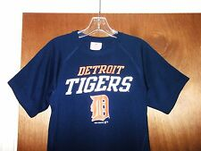 Rare Detroit Tigers Shirt MLB Baseball Team Jersey Top Jacket Youth Boys M L