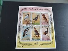BELIZE 1980 SG MS567 BIRDS (4TH SERIES) USED