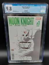 Moon Knight #1 (2016) Jeff Lemire 3rd Print Variant RARE Low Pop 5 CGC 9.8 WP