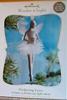 Hallmark Flickering Fairy Wonder & Light Ornament 2010 ~ MINT In Box
