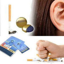 Magnet Auricular Quit Smoking Acupressure Patch No Cigarettes Health Therapy MC