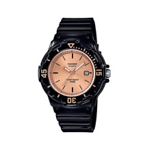 Casio LRW-200H-9E2VDF Black Resin Watch for Women