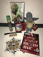Disney Star Wars - Movie Fusion Bundle x6 - Watto Plush, DVD Trilogy, R2D2