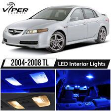 2004-2008 Acura TL Blue LED Interior Lights Package Kit