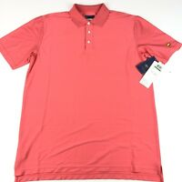 Jack Nicklaus Men's Stay-Dri Golden Bear S/S Pink Golf Polo Shirt L NWT $50.00