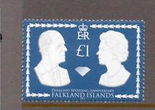 Îles Falkland neuf sans charnière 2007 SG1087 Royal Diamant Mariage