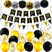 Happy New Year Party Decorations Kit 2021, New Years Eve Party Supplies 2021