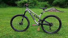 Kona Process 134A DL Enduro Frame Only Medium Silver/Black 2015 Year Model NEW!