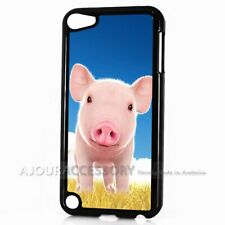 ( For iPod Touch 6 ) Back Case Cover AJH11696 Cute Pig