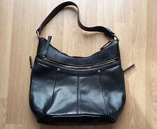 schöne Tasche, Echtleder, Tignanello, schwarz