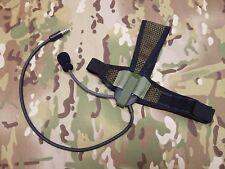 Selex TASC-III Headset w/ Dynamic Microphone , TP-120 Connnector in NATO Wiring.