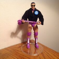 "RICK ""THE MODEL"" MARTEL wwe legend RARE wrestling lot ELITE FIGURE + ACCESSORIES"