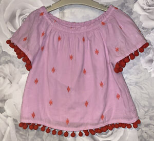 Girls Age 4 (3-4 Years) Next Short Sleeved Top