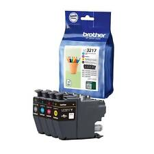 Genuine Brother LC3217VAL VALUE PACK INK CARTRIDGES out of date (still work)