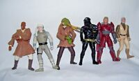 Lot of Six Star Wars Action Figures 1995 Kenner