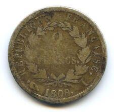 Empire Napoleon Ier (1804-1814) 2 Francs 1808 I Limoges