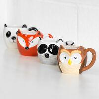 Single Woodland Animal 3D Mug Novelty Tea Coffee Hot Chocolate Latte Cup Gift