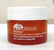 Origins Ginzing Refreshing Eye Cream To Brighten & Depuff 15ml pot NEW UNBOXED