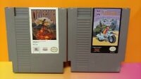 Infiltrator + Thunderblade - Nintendo NES Authentic Game Tested Works