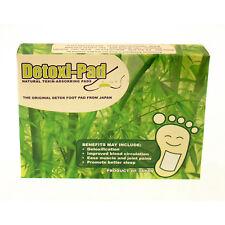 Detox Foot Patches - Detoxi-Pads Natural Toxin Adsorbing Foot Pads - 5 night use