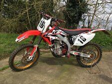 Honda CRF450 Road Registered Motocross Bike 2008