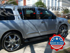 Fit:2005-2012 Nissan Pathfinder 6Pc Chrome Pillar Post Stainless Steel Trim