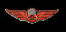 HARLEY DAVIDSON Willie G Skull Wings 2 INCH Pin harley PIN
