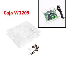 Caja transparente para W1209 Termostato DC 12V Controlador de Temperatura M0107