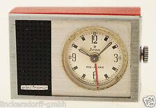 STOWA MINI ALARM - REISEUHR / TISCHUHR - 1960er JAHRE - ELEKTRONISCHER WECKER