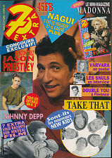 7 EXTRA 93/05 (4/2/93) NAGUI JOHNNY DEPP TAKE THAT MADONNA PRIESTLEY AXELLE RED