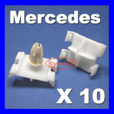 10 MERCEDES DOOR MOULDING SILL SKIRT TRIM CLIPS C CLK W203 W208 EXTERIOR PLASTIC