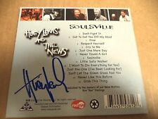AUTOGRAPHED HAND SIGNED BY HUEY LEWIS ON SOULSVILLE CD 2010