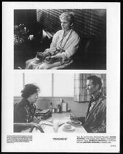 "PSYCHO III - 1986 - 4 Orig 8x10"" Glossy Stills - ANTHONY PERKINS, DIANA SCARWID"