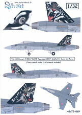 Syhart Decals 1/32 F/A-18C HORNET 2011 NATO TIGERMEET Swiss Air Force