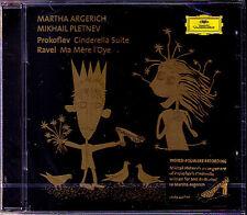 Martha ARGERICH Mikhail PLETNEV PROKOFIEV Cinderella RAVEL Ma Mère l'Oye Mere CD