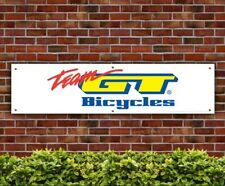 Team GT Bicycles PVC Banner Garage Workshop Bike Advertising Sign (BANPN00133)