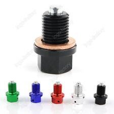 M12x1.5mm Magnetic Engine Oil Drain Bolt Plug Kawasaki NINJAZX6 ZX6R ZX6RR ZX-6R