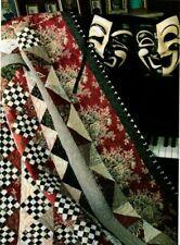 Harlequin Quilt Pattern Pieced JC
