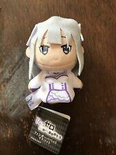 Re:Zero Emilia Plush Finger Puppet Keychain