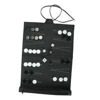 Games Backgammon Jeu de Backgammon Classic - Set de Voyage - Cuir PU